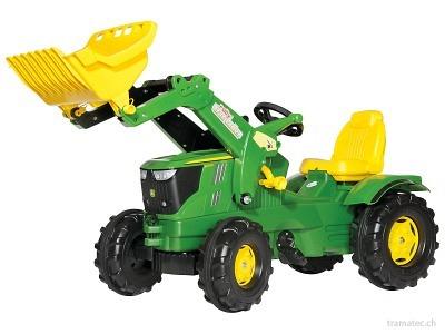 Rolly Toys Farmtrac John Deere 6210 R mit Trac Lader - 61 110 2